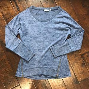 Athleta Dual Zip Sweater